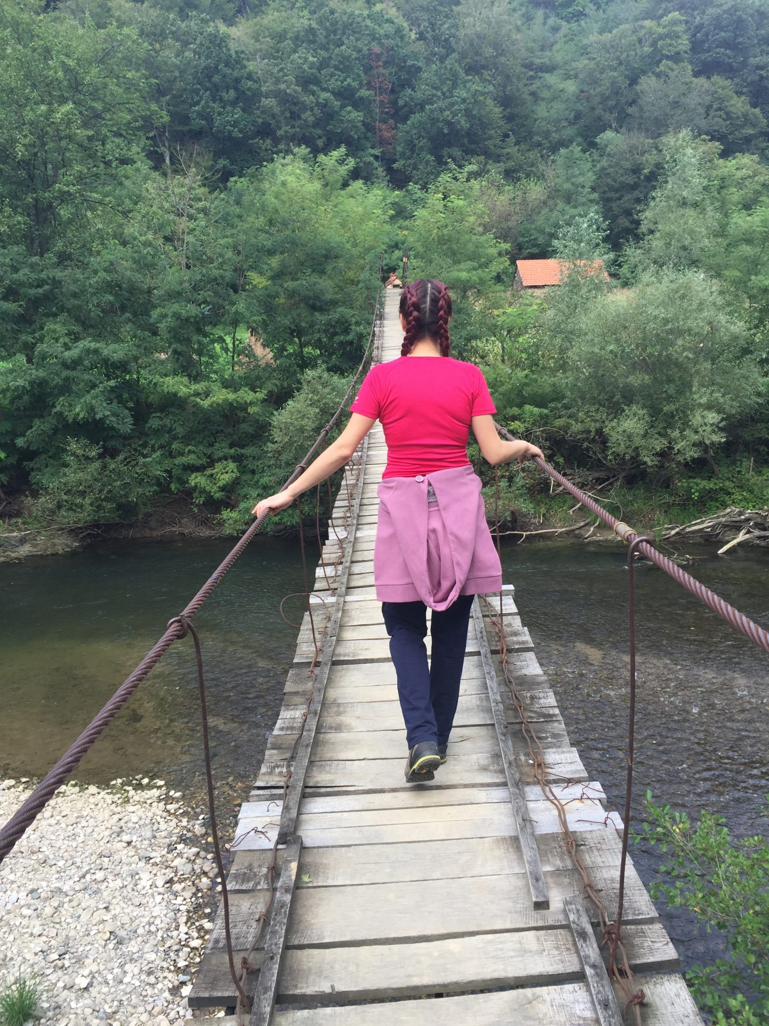 podul peste Nera zgomotul gandului