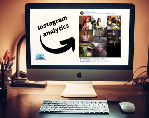 sumar de instagram 2016 și 2017