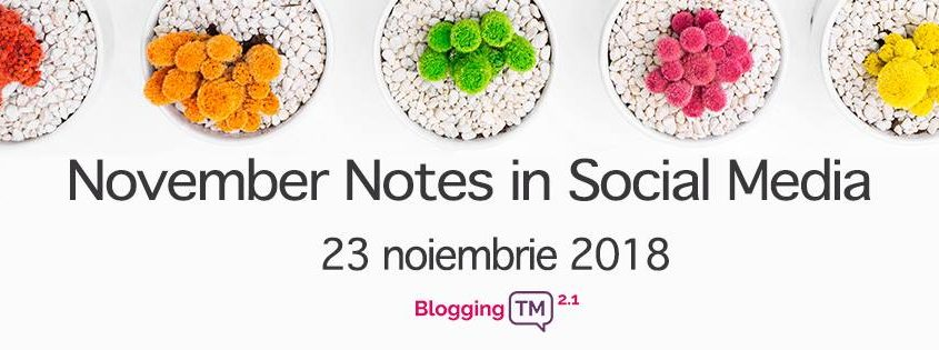 November Notes in Social Media 3.0