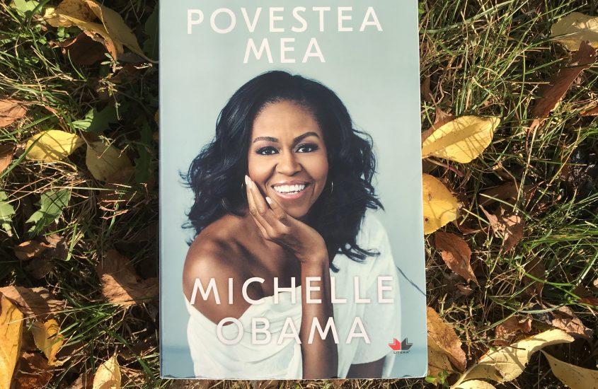 Coperta cărții POVESTEA MEA de Michelle Obama