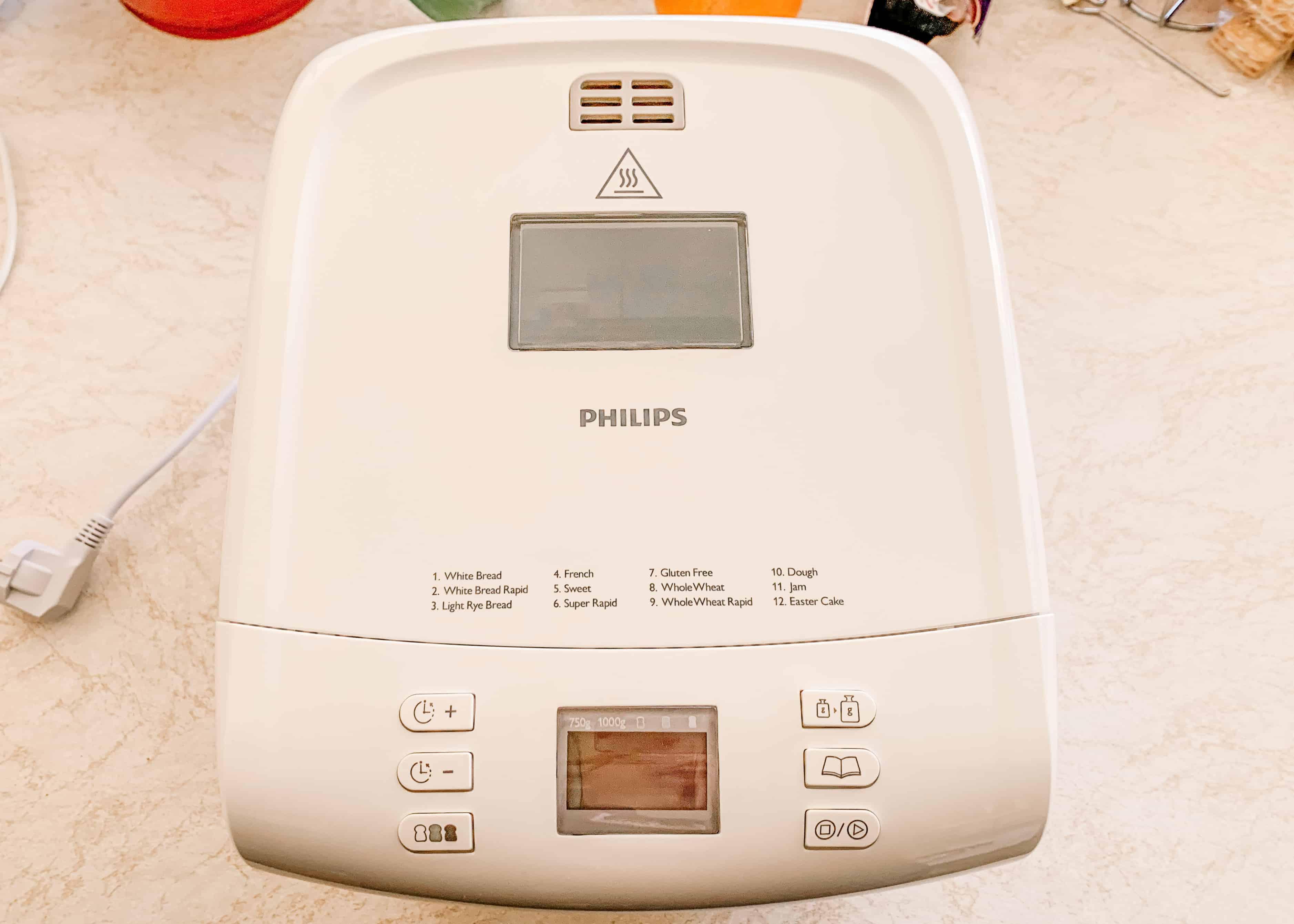 masina de facut paine philips